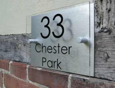 Contact us acrylic signs uk for Design your own house sign